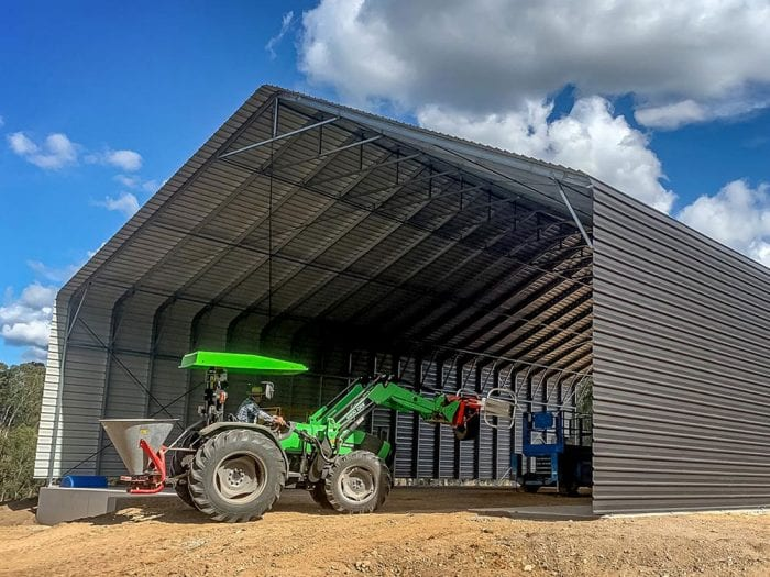 Industrial | Transportable Shade Sheds